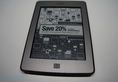 Kindle广告版屏保  imdale.com
